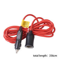 12V 15A Car Cigarette Lighter Plug Extension Cable Adapter Lead Cord Socket 3.5M