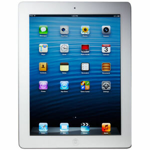 Apple iPad 4th Gen. 64GB, Wi-Fi, 9.7in - White (CA)