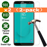 2pcs For Samsung Galaxy A7 2018 Tempered Glass Mobile Phone Screen Protector New