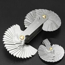 60 Degree 52 Blades Measuring Tools Gauge Thread Plug Gage Metric Screw Pitch