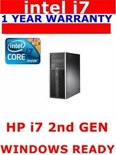 HP i7 2nd or 3rd Gen COMPUTER PC @3.40ghz 16GB RAM WINDOWS 10 OR 7 1TB SSD
