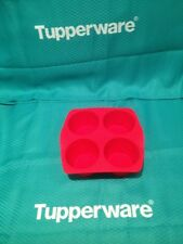 Tupperware TupperChef Large Muffin Form - RED - BRAND NEW