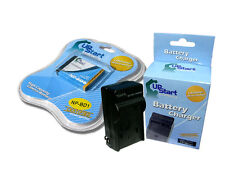 Battery +Charger for Sony DSC-T90, DSC-T200, DSC-T75, DSC-TX1L, DSC-T2/W, DSC-T9