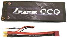 Gens Ace 6000mAh 2S 7.4V 70C 140C Lipo Battery Hard Case 4mm/5mm Banana Deans