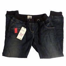 Womens River Island Dark Blue Urban Herit Denim Cuff Jeans EU 36 UK Size 10
