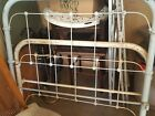 Antique Vintage Cottage Shabby Chic Full Size Iron Bed