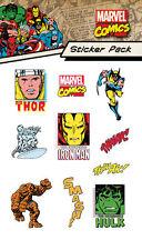 Oficial De Marvel Comics-Personajes-Brillo paquete de pegatinas