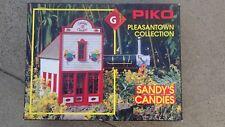 Sandy's Candies G scale model Train store building town kit # 62212 NOS