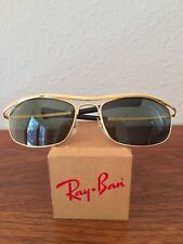 Vintage Ray Ban Bausch And Lomb Gold Olympian I Deluxe Easy Rider W0255 Biker