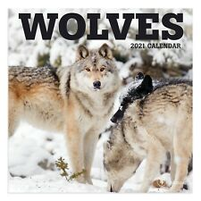2021 Wolves Mini Calendar