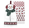 St. Nicholas Square Snowman Kitchen Towel 2-Pack