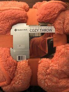 Cozy Throw (Clemson Orange) Oversized