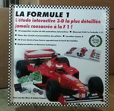 livre POP UP : LA FORMULE 1 L'ETUDE INTERACTIVE 3-D - EN TRES BON ETAT - 1999