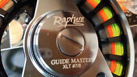 Rapture Guidemaster fly fishing reels  2 versions , new 2016 XLT and HBC