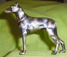 Rare Vintage 1934 Doberman Pinscher Bronze Figurine Ch Carlo Von Bassewitz