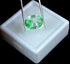 9.40 Ct Natural Oval Cut Certified Zambian Emerald Loose Gemstone