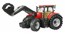 Bruder TRATTORE CASE IH Optum 300 CVX CON FRONT caricatrici 03191 NUOVO OVP