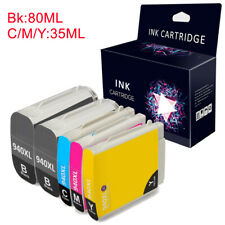 Compatible 5 Ink Cartridge With HP 940XL Officejet Pro 8000 8500 A809 8500