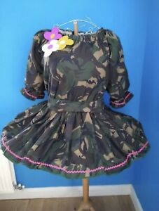 pantomime dame costume - Camoflage Outfit