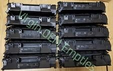 24 Virgin Genuine Empty HP 05A Laser Toner Cartridges FREE SHIPPING CE505A