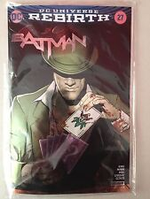 COMIC CON SDCC 2017 BATMAN #27 REBIRTH SILVER FOIL VARIANT