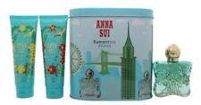 ANNA SUI ROMANTICA EXOTICA GIFT SET 50ML EDT + 100ML B/L + 100ML S/G + MUSIC BOX