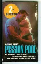 PASSION POOL by Orrie Hitt, rare US Domino Book sleaze gga pulp vintage pb