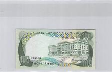 South Vietnam 100 Dong (1972) N° A/31 995686 Pick 31a