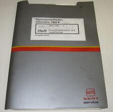 Werkstatthandbuch Seat Alhambra Diesel Direkteinspritz Vorglühanlage Anlage 1996