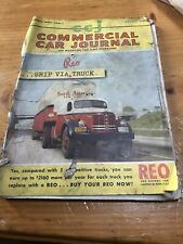 1951 Ccj Commercial Car Journal Heavy Machinery Trucks Reo White Gmc Mack Ads