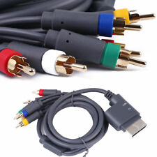 1.5m Component HD TV Audio Video AV Cable Lead for Microsoft Xbox 360 - Grey