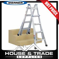 Werner MT17AZ 4.6m Aluminium Telescoping Ladder