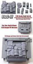 1/35 Scale StuG III Deck Stowage Set #6 (8 Pieces) - Value Gear Resin