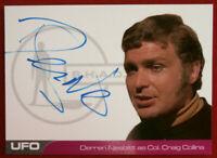 UFO - SERIES 2 - DERREN NESBITT - Autograph Card (DN2) - BLUE INK VARIANT