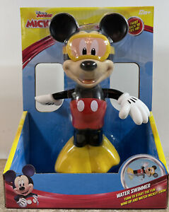 Disney Mickey Mouse Clubhouse Water Swimmer Bath Toy Mickey Mouse NEW