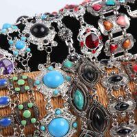 12pcs mix lot tibet charms silver women bracelets party fashion ethnic jewellery