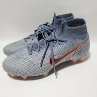 Nike Mercurial Superfly 6 Elite DF FG ACC Soccer AH7365-008 Mens Size 7.5 Grey