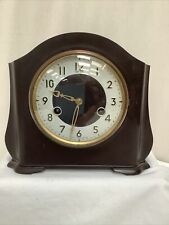 Smiths Bakelite mantel clock with gong-strike movement Untested