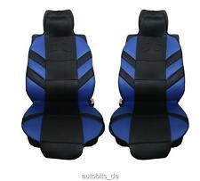 2x Universal Sitzauflage Sitzaufleger Auto blau Autositzauflage Auflage Autositz