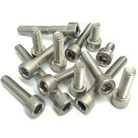 M8 A2 Stainless Steel - Socket Caphead Screws - Hexagon Socket Head - Allen Bolt