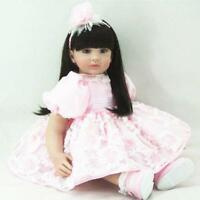 Princess Baby Girl Dolls Vinyl Toddler Reborn Handmade Lifelike kids gifts 22''