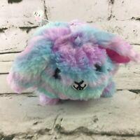 "Pikmi Pops Surprise Mini 3"" Plush Pink Blue Shaggy Stuffed Animal Soft Toy"