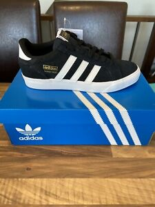Brand New Adidas Originals Basket Profi Lo - Black / White - Gazelle - UK 8