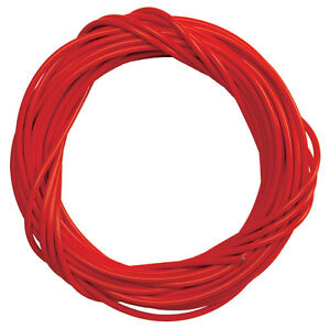 RED BICYCLE BIKE TEFLON LINED BRAKE CABLE HOUSING 25 FOOT ROLL 5MM