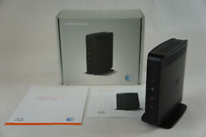 Cisco AT&T Microcell Wireless Cell Phone Signal Booster 3G 4G LTE DPH-154 -READ!