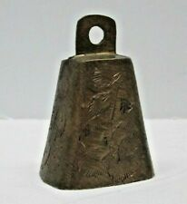 Vintage Small Brass Cow Bell