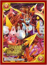 Puzzle & Dragons HERA and Anime Game Character Card Sleeves PAD TCG MTG