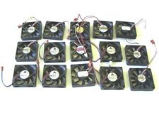 Computer Cooling Fans 12VDC 0.20-0.70A 70mm. lot of 15 used tested OK
