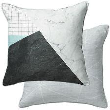 Cotton Blend Children's Playroom Square Decorative Cushions