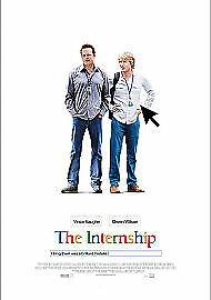 Brand New The Internship (DVD 2013) Vince Vaughn Free Postage